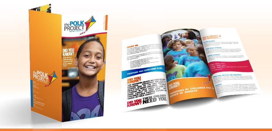 Graphic Design – Polk Project Brochure Design