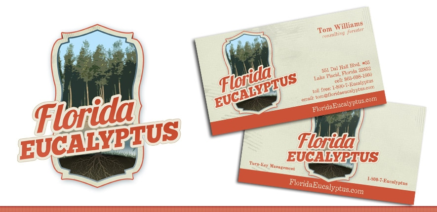 Graphic Design – Florida Eucalyptus