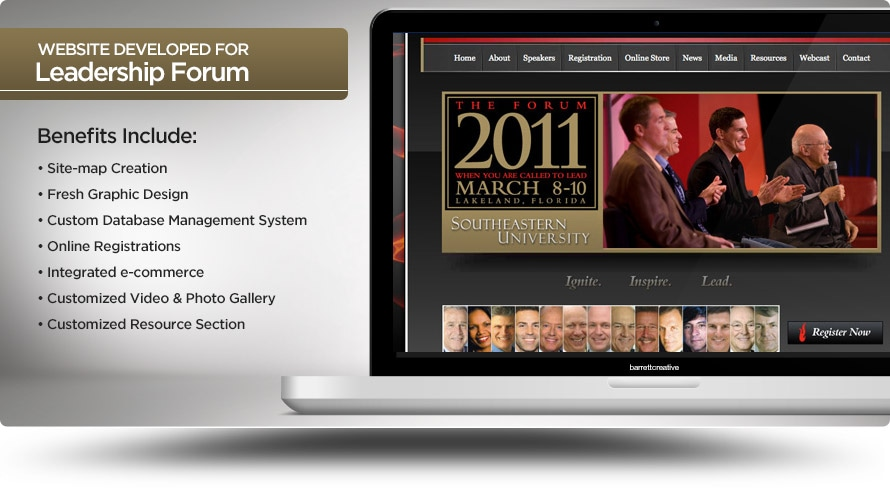 Web Design – National Leadership Forum