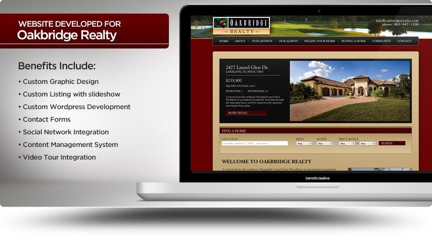 Web Design – Oakbridge Realty