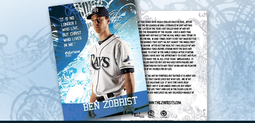 Graphic Design – Ben Zobrists Faith Card