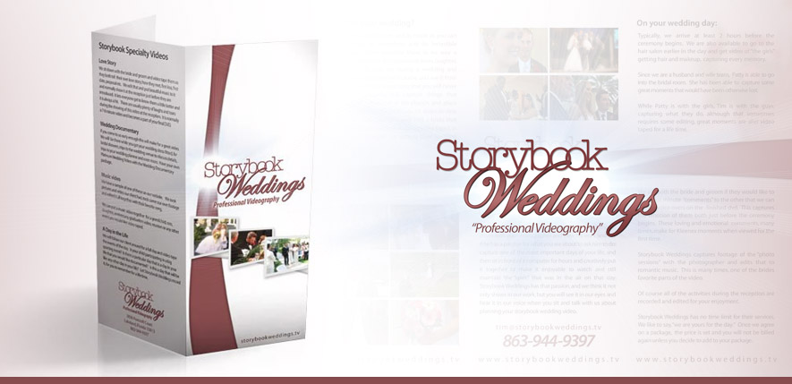 Graphic Design – Storybook Weddings