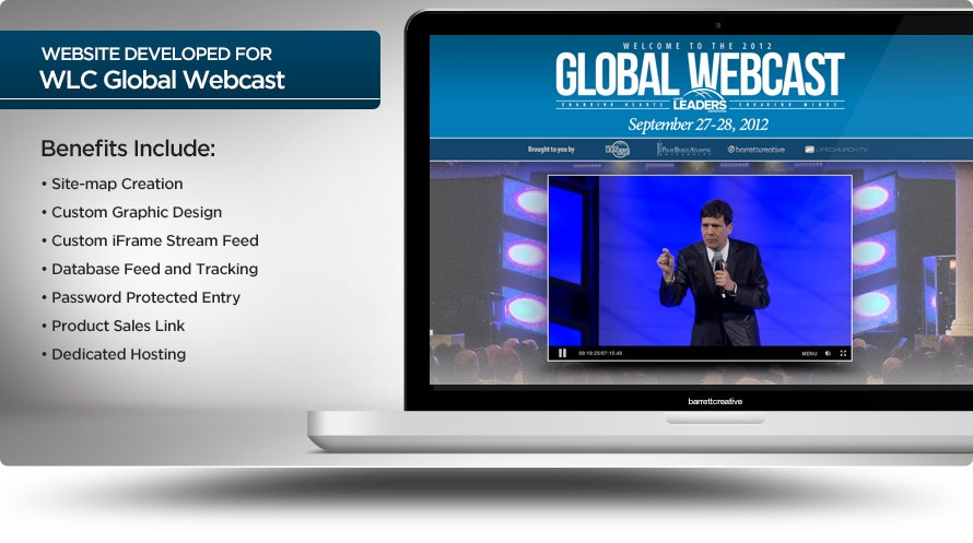 Web Design – Global Webcast