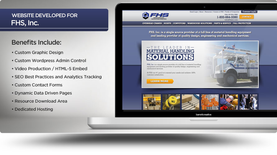 Web Design – FHS, Inc.